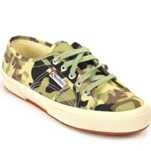 SUPERGA CAMOUFLAGE sneakers